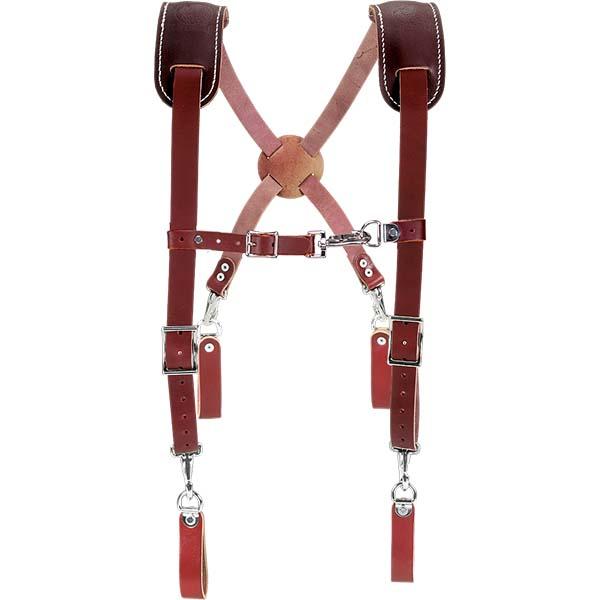 Leather Work Suspenders