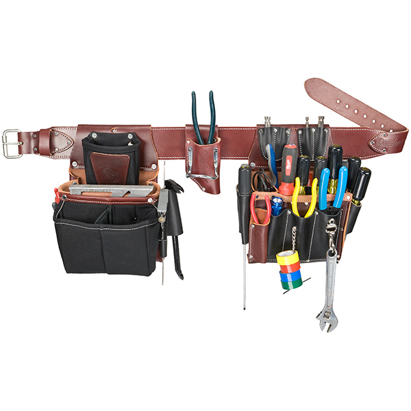 Commercial Electrician's Tool Bag Set