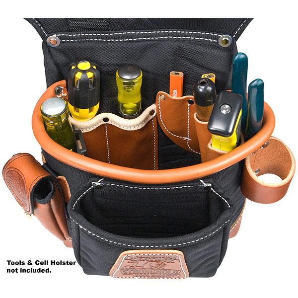 Adjust-to-Fit Fat Lip Tool Bag Set - Black