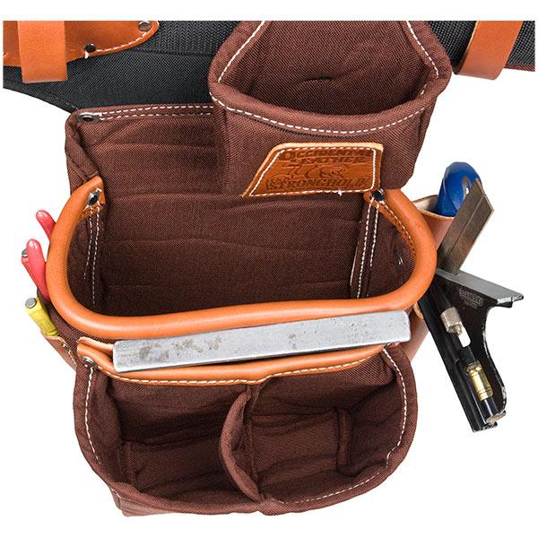 Adjust-to-Fit FatLip Tool Bag Set - Cafe
