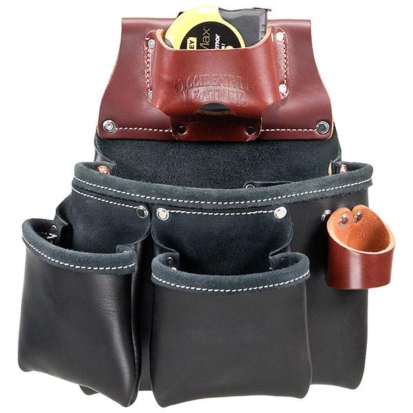 3 Pouch Pro Tool Bag - Black