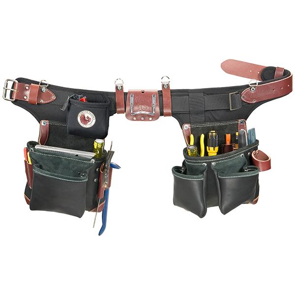 Adjust-to-Fit Green Building Tool Bag Set