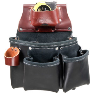 3 Pouch Pro Tool Bag - in Black - Left Handed